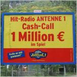 1 Millionen Euro Cash Call