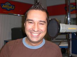 Martin Dänner im Hit-Radio ANTENNE 1 Studio
